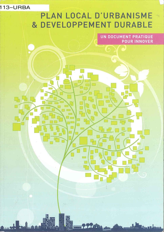 Plan Local d'Urbanisme et Développement Durable