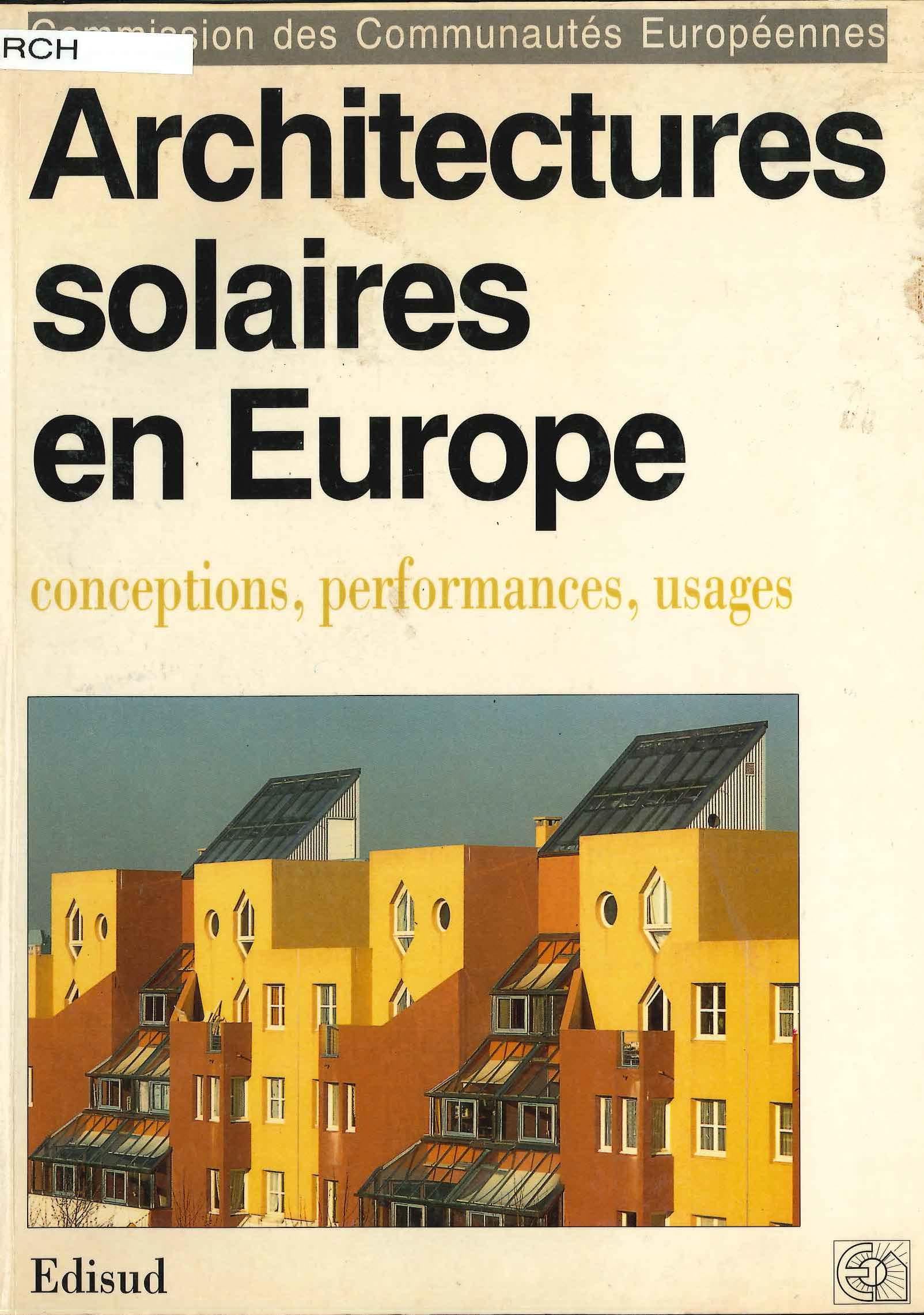 Architectures solaires en Europe