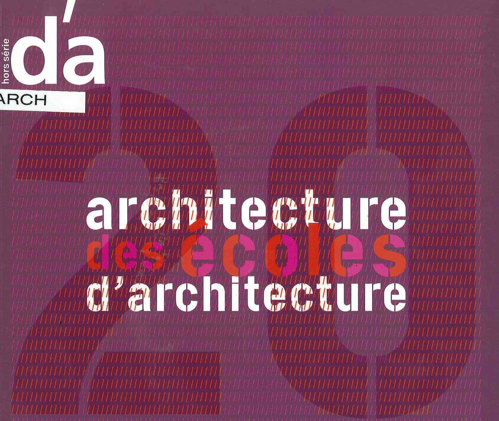 Architecture des écoles d'architecture