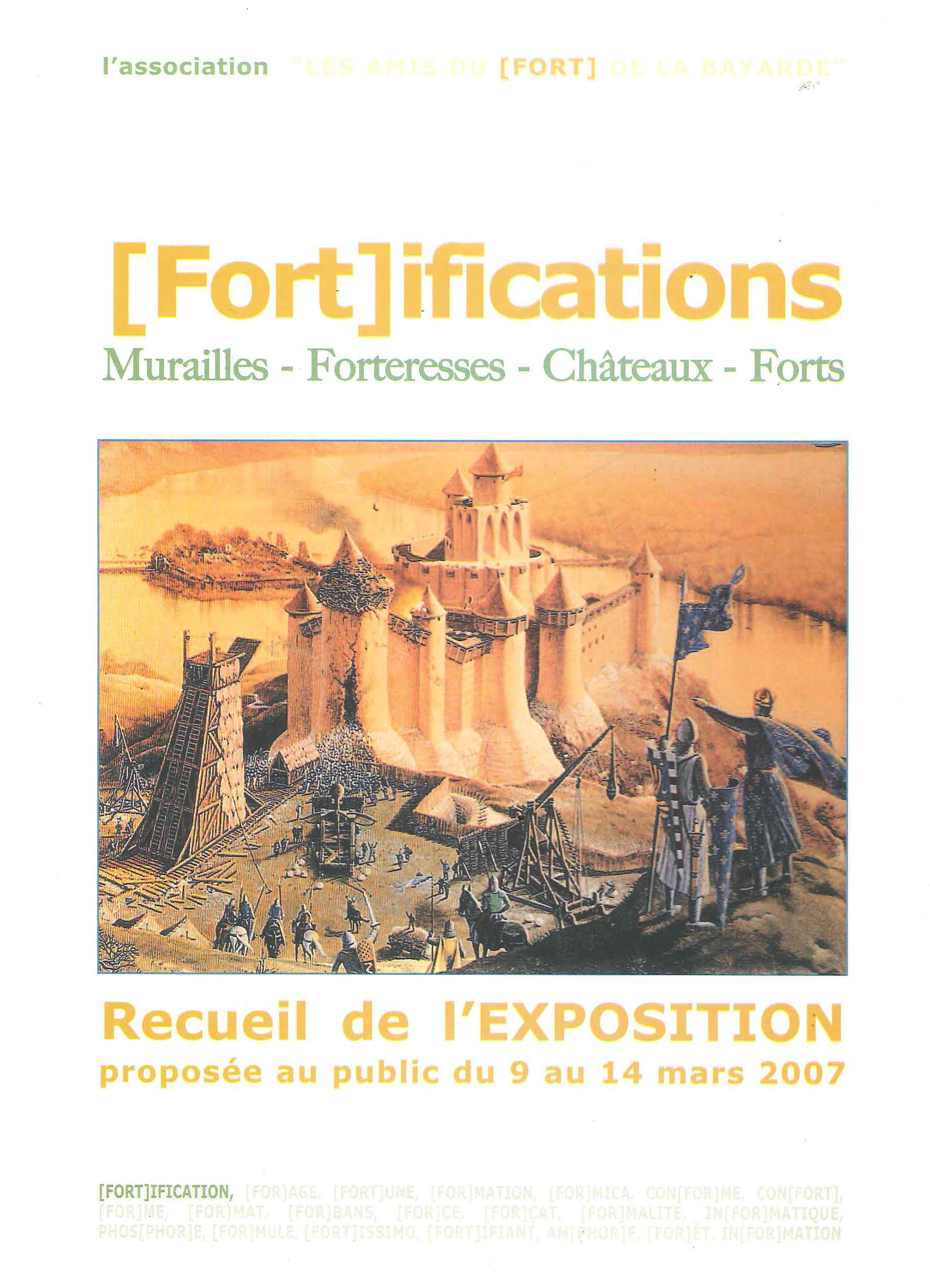 Fortifications : Murailles - Forteresses - Châteaux - Forts
