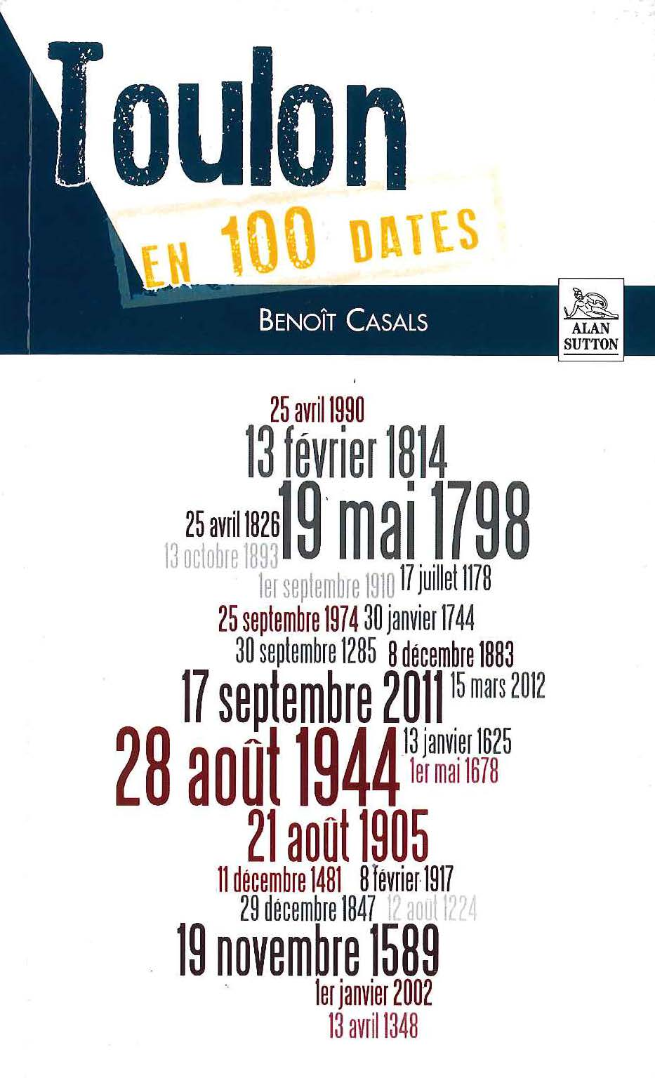 Toulon en 100 dates