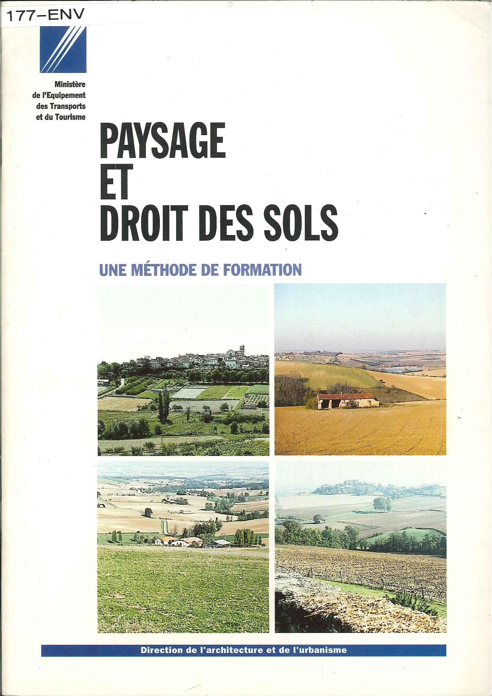 Paysage et droit des sols