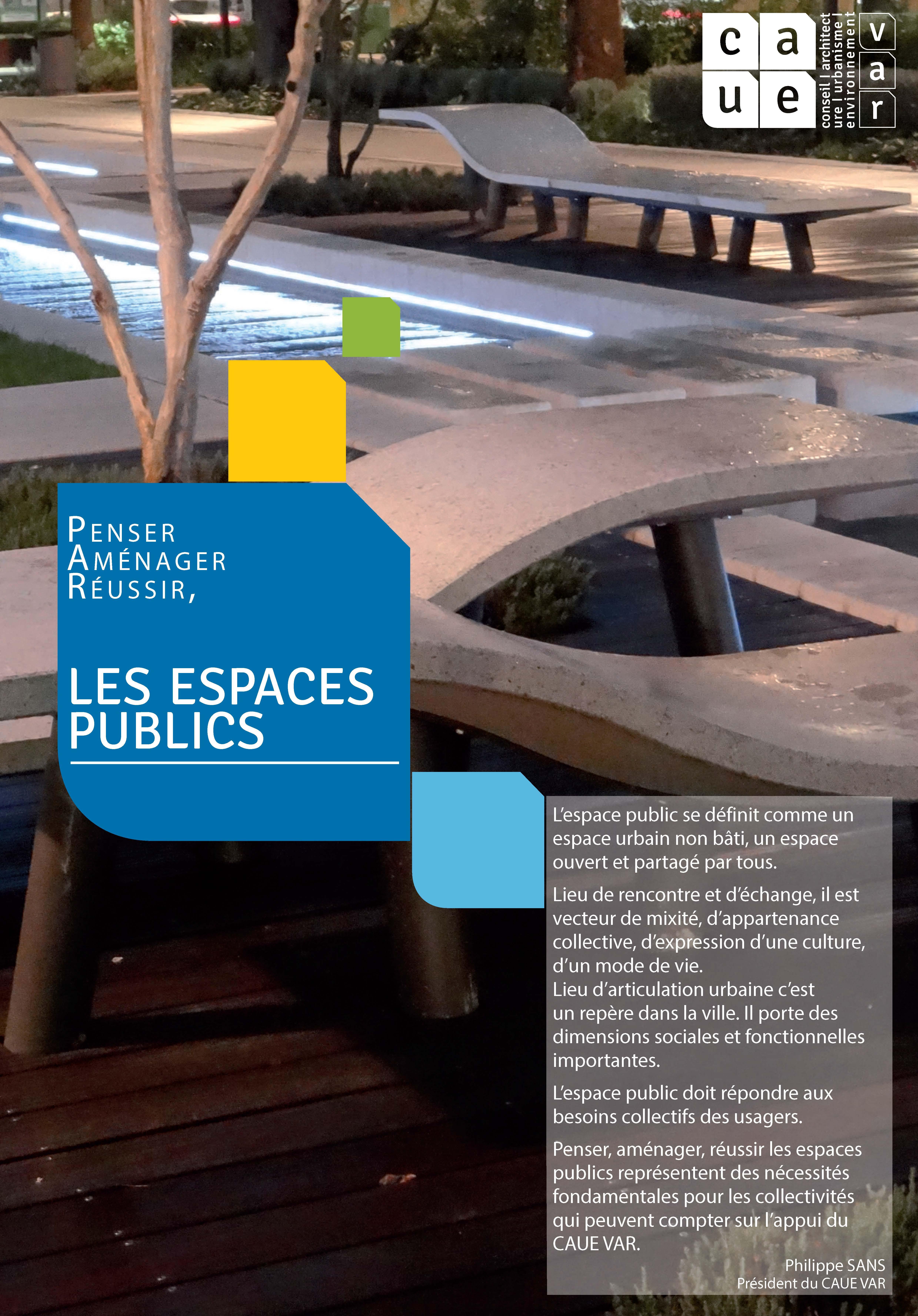 Les espaces publics
