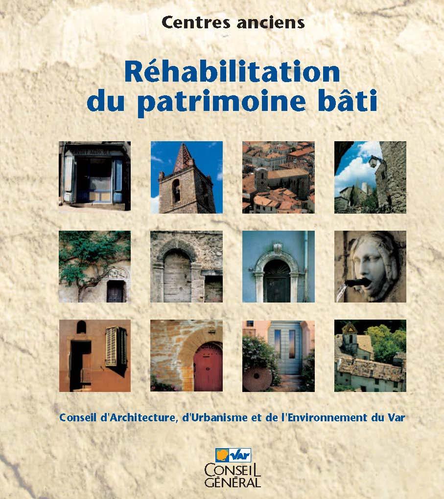 Réhabilitation du patrimoine bâti