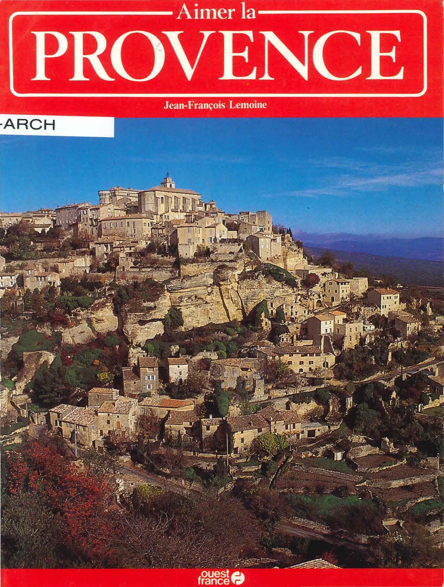 Aimer la Provence