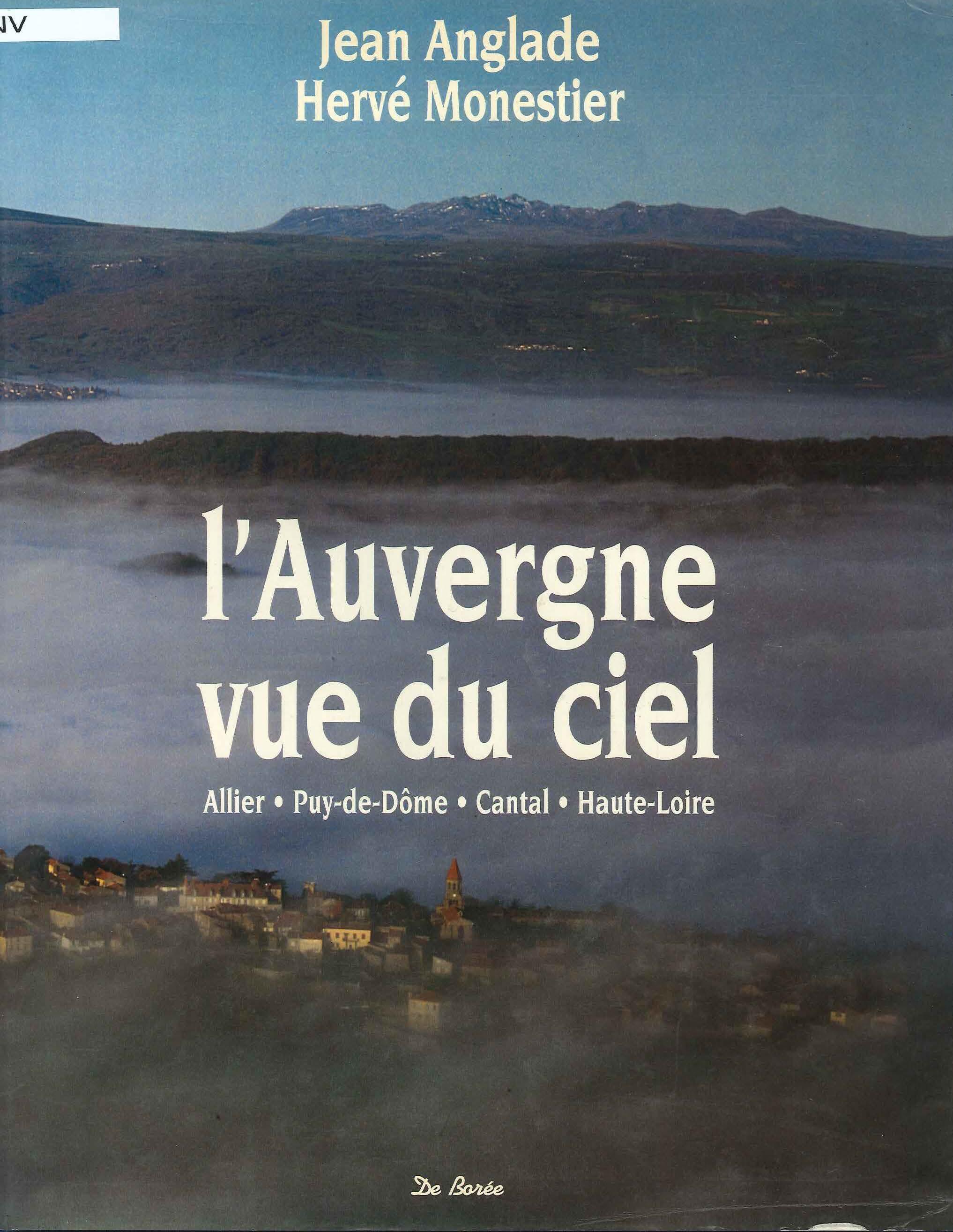 L'Auvergne vu du ciel