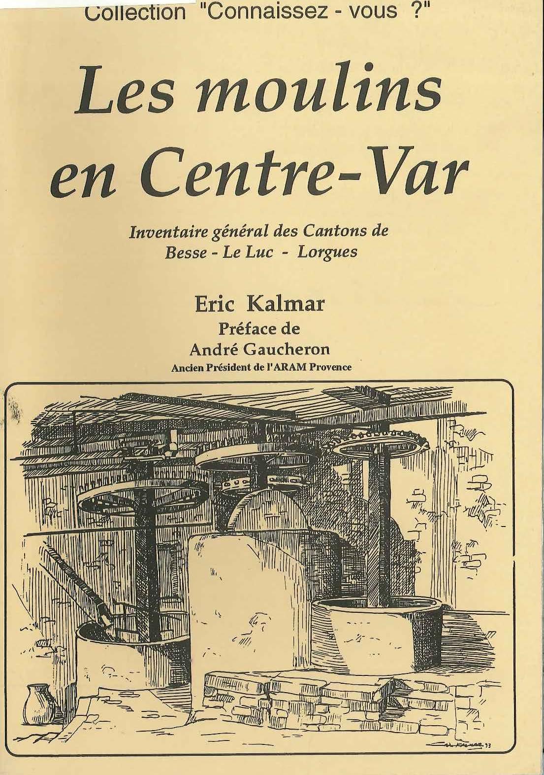 Les moulins en Centre-Var