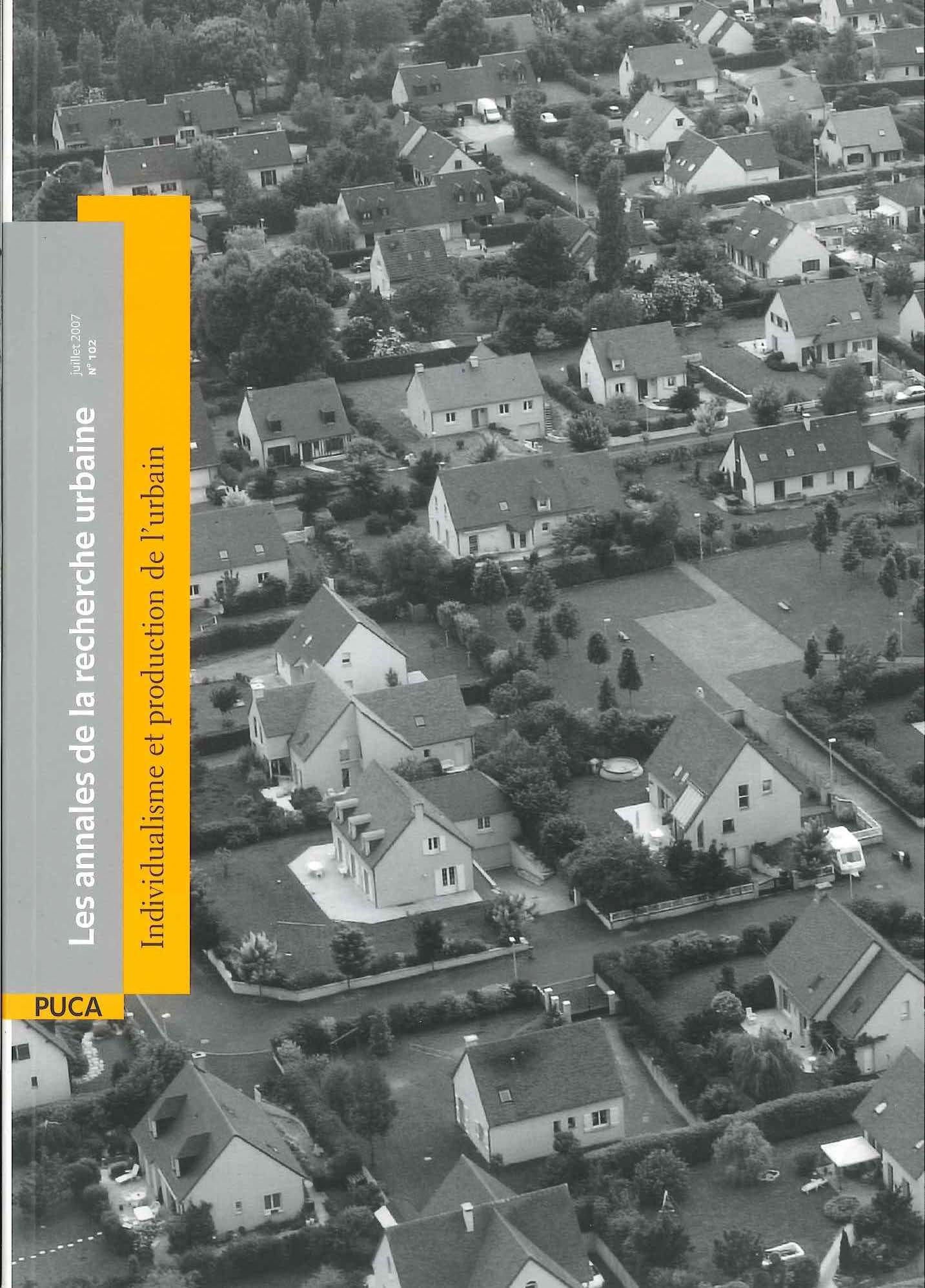 Les annales de la recherche urbaine