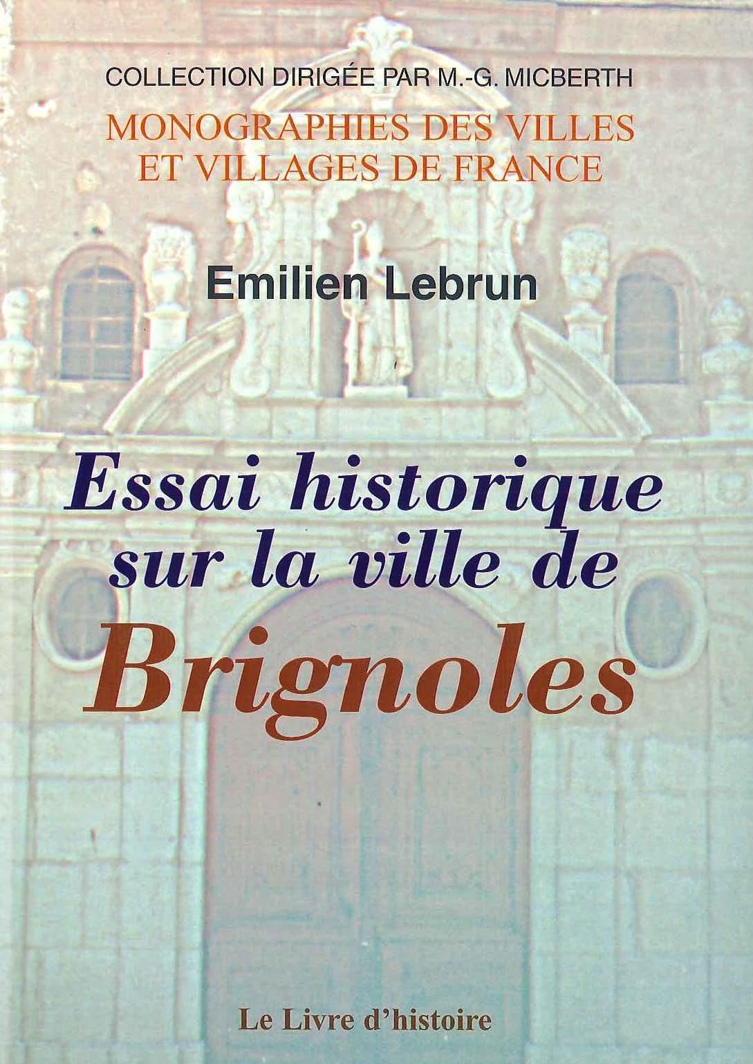 Essai historique sur la ville de Brignoles