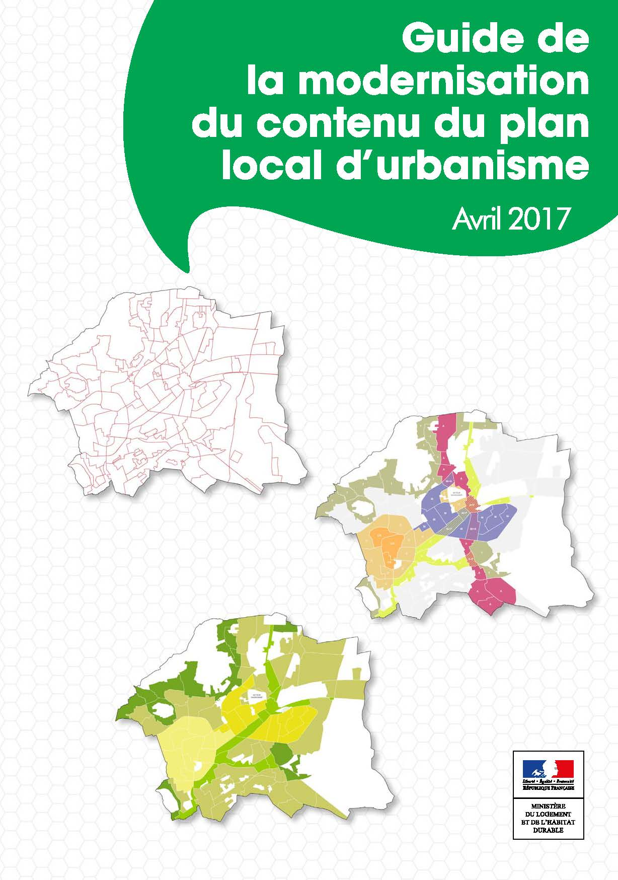 Guide de la modernisation du contenu du Plan Local d'Urbanisme