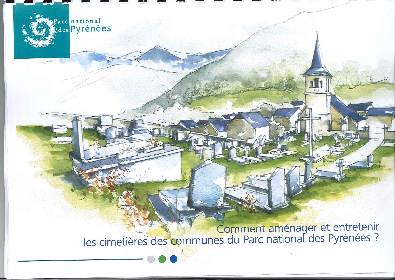 Comment aménager et entretenir les cimetières des communes du Parc national des Pyrénées?