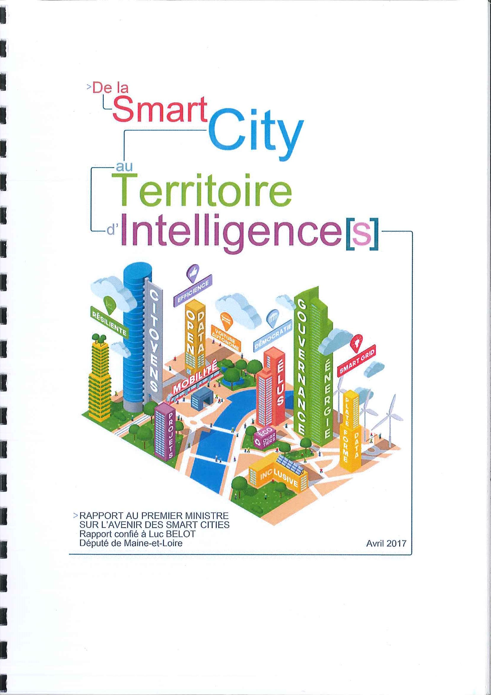 De la Smart City au Territoire d' Intelligence(s)