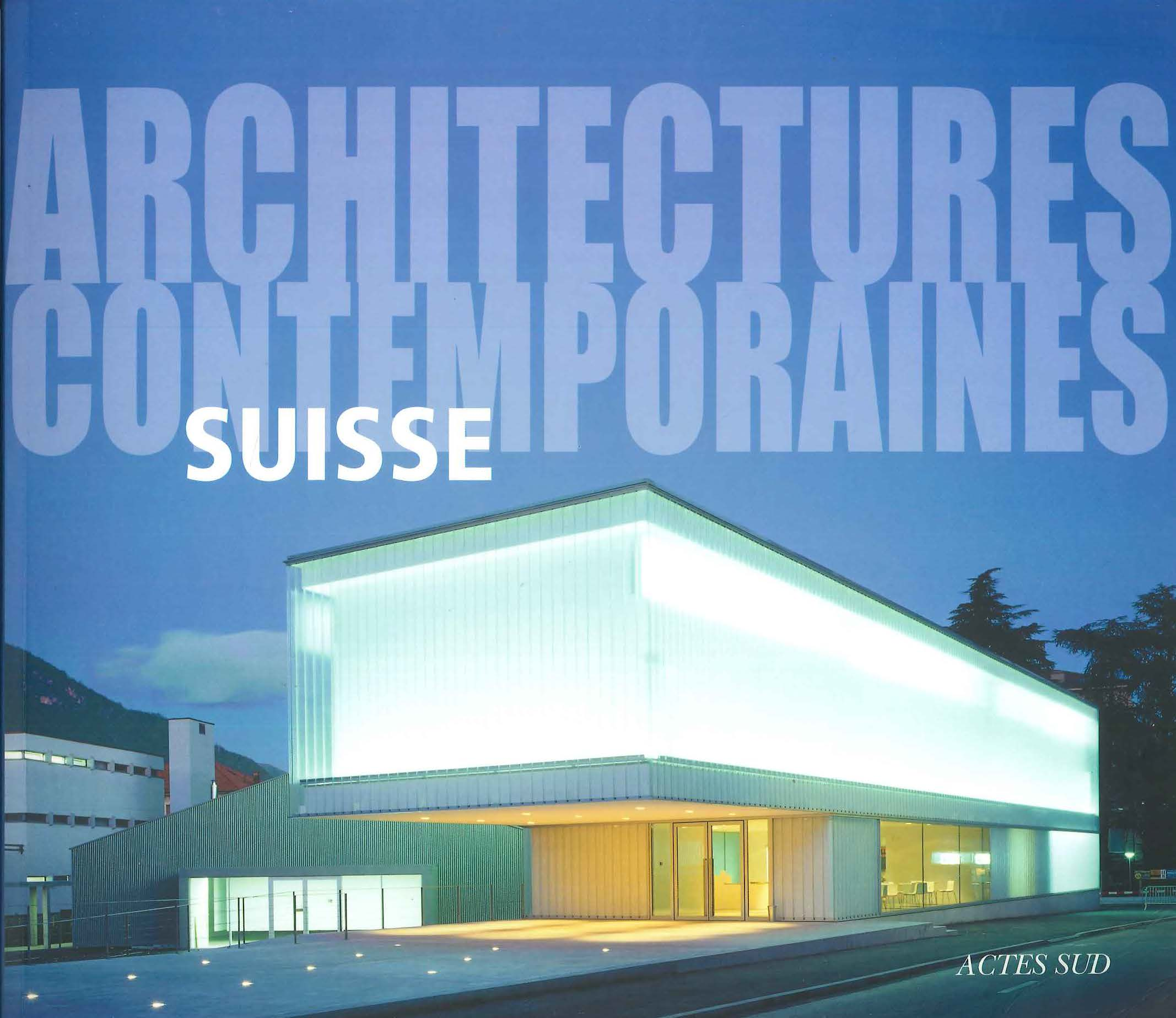 Architectures contemporaines -SUISSE