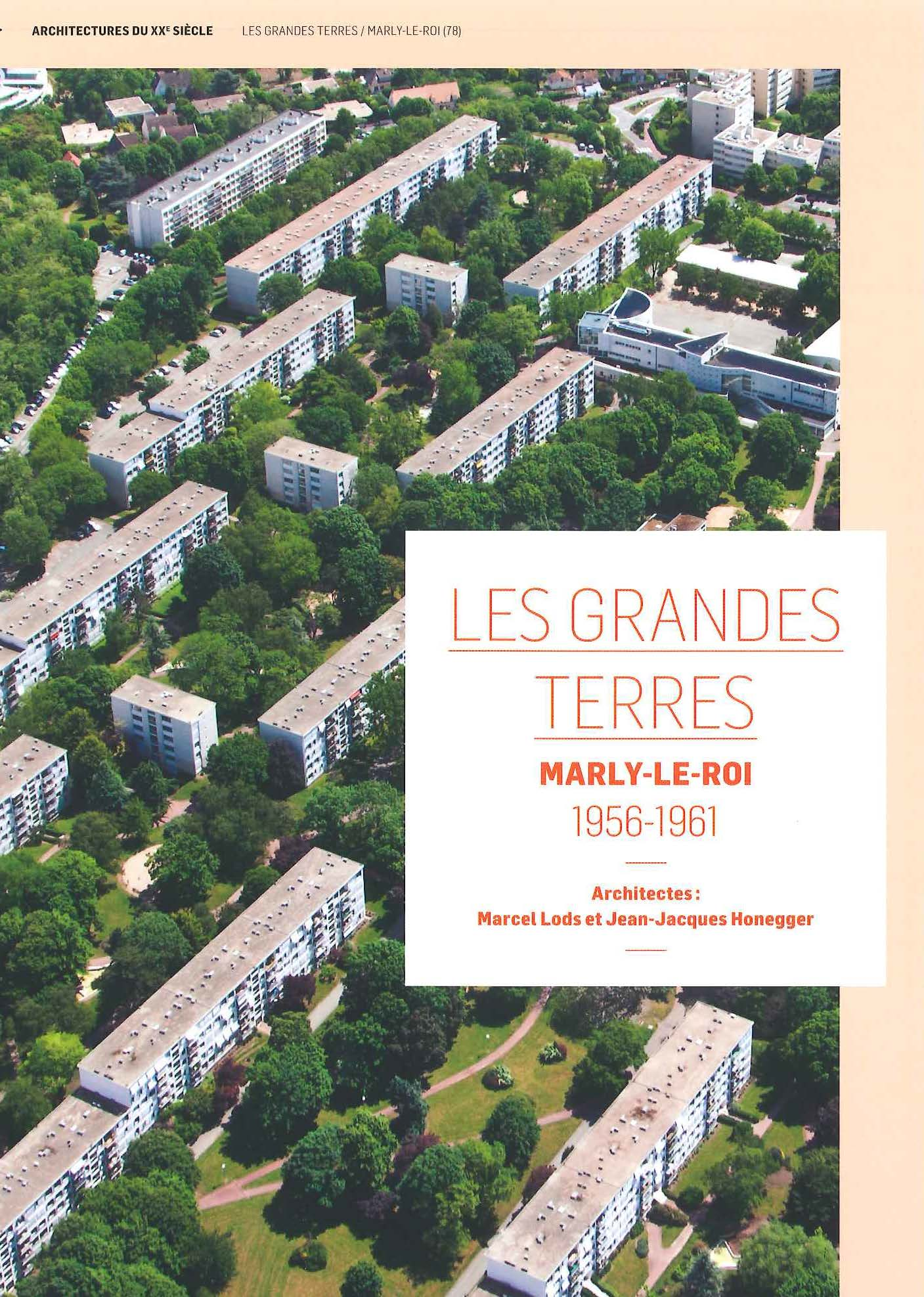 Les Grandes Terres - MARLY LE ROY 1956-1961